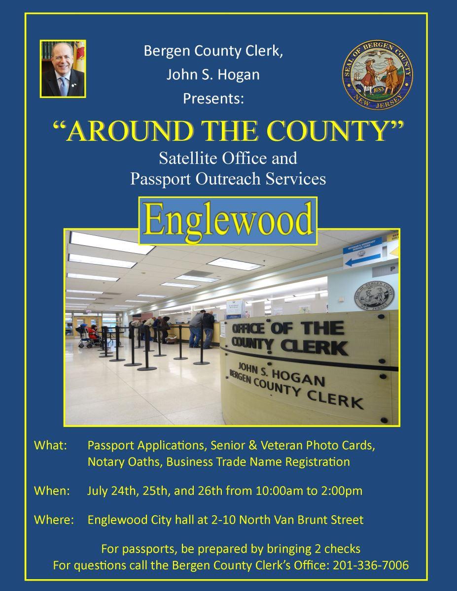 Bergen County Clerk - Senior Golden Key Card