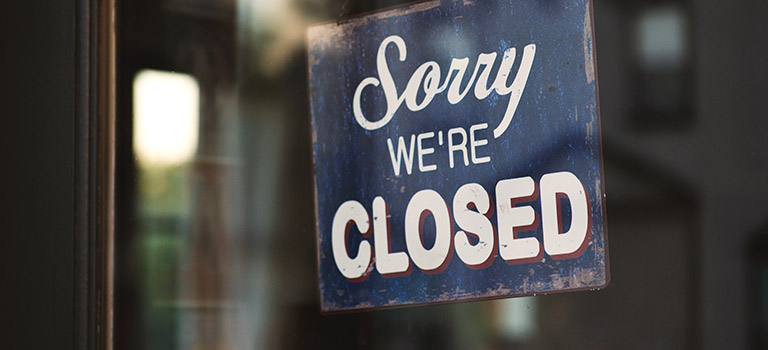 Bergen county clerk closing a business events reheart Images